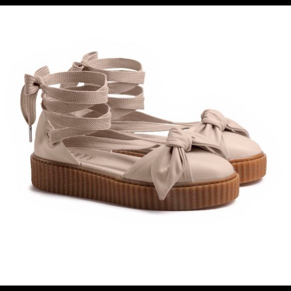 c8aa1894150 Fenty PUMA by Rihanna Bow Creeper Sandals